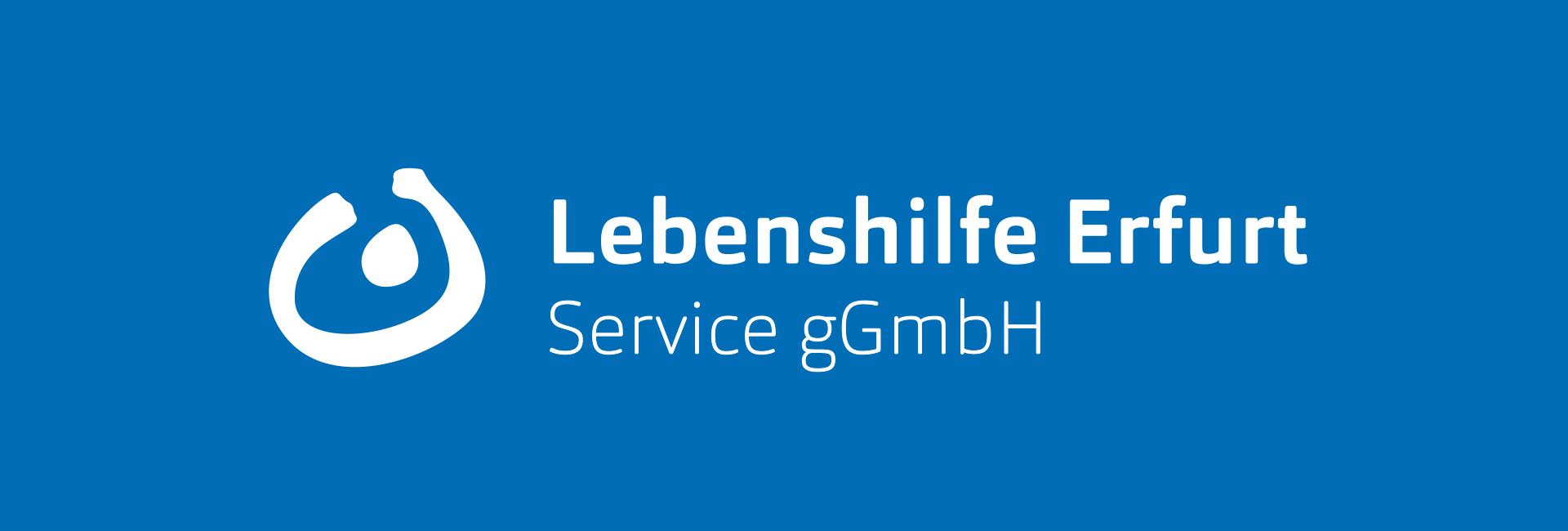 Das Logo der Lebenshilfe Erfurt Service gGmbH.